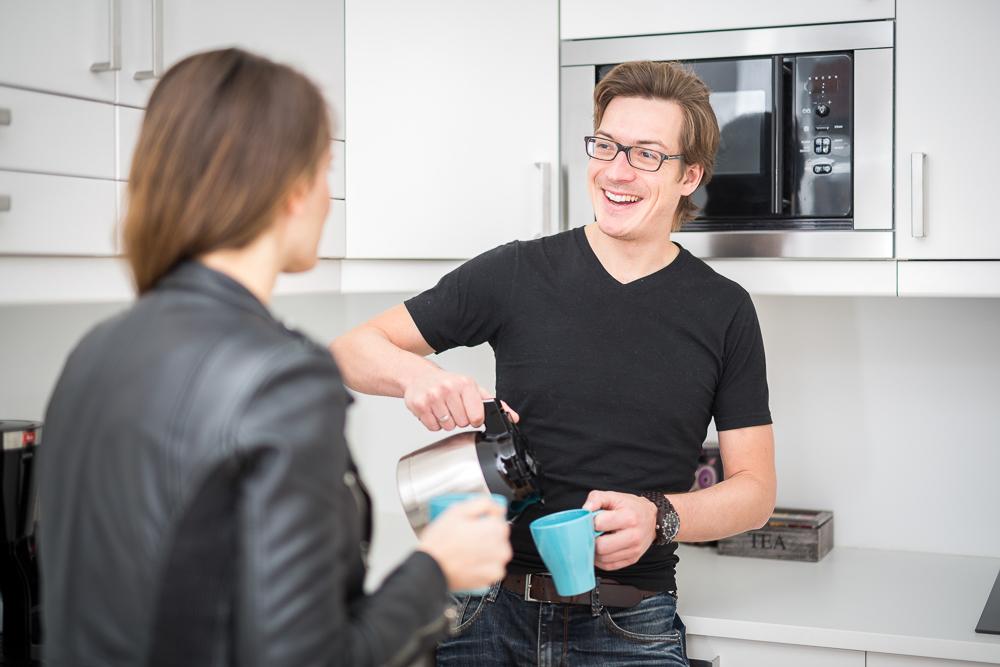 co-work vienna küche